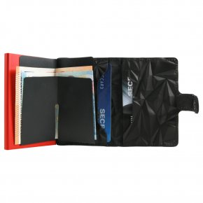 Miniwallet Prism black-red