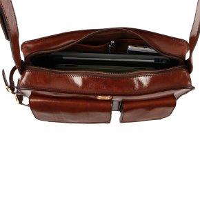 Herrentasche mit Schirmhalter marrone