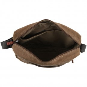 Messengerbag Tablet Canvas brown