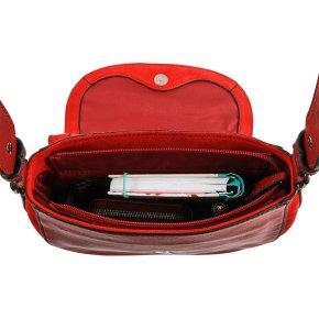 SCHLARAFFE Handtasche red