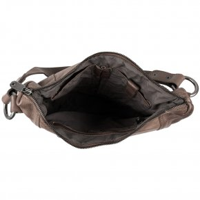 Schultertasche Pouch taupe