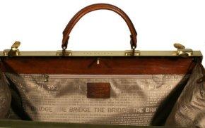 Bügel-Reisetasche braun