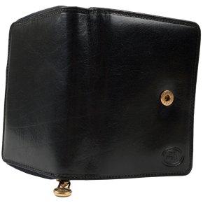Damenbörse Rindleder schwarz