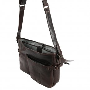 CHANDLER Laptoptasche dark cigar
