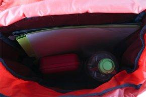 JUNIOR Kinderrucksack chili-lava