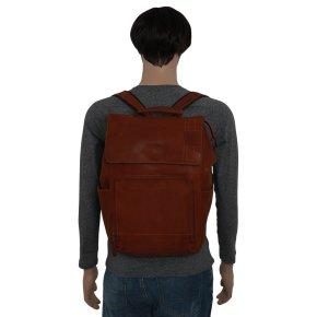 Upminster cognac backpack