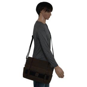 Laptop-Messengerbag Canvas olive