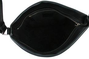 Große Schultertasche schwarz