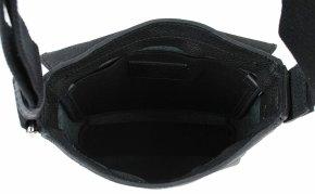 Herrentasche im Hochformat schwarz