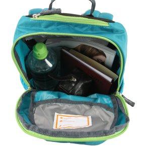 GOGO XS Kinderrucksack petrol-kiwi