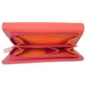 Medium Tri-fold Outer Zip Purse Candy
