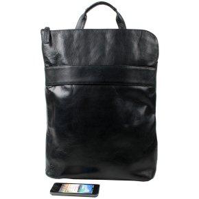 LA PAZ Laptoprucksack black