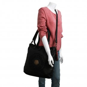 SONNENFELSGASSE 2 shoulder bag L anthrazit