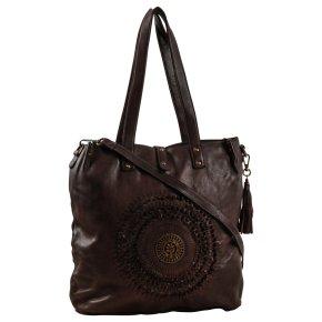 Taschendieb Wien SONNENFELSGASSE 2 shoulder bag L chocolat fondent